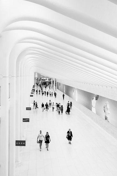 the Oculus in New York City van John van den Heuvel