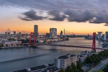 Rotterdam: De Maas & Willemsbrug van Carla Matthee