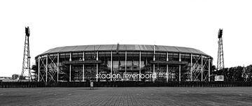 Stadion Feyenood (De Kuip) in Rotterdam von Mark De Rooij
