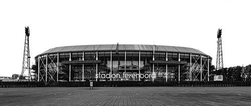 Stadion Feyenood (De Kuip) in Rotterdam