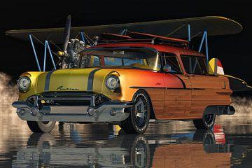 Pontiac Safari Station Wagon Surfer Edition von 1956