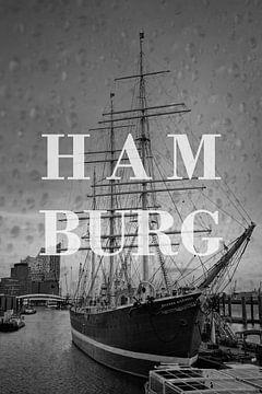 Städte im Regen: Hamburg von Christian Müringer