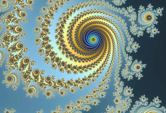 Kleurrijke fractal - Wiskunde - Mandelbrot