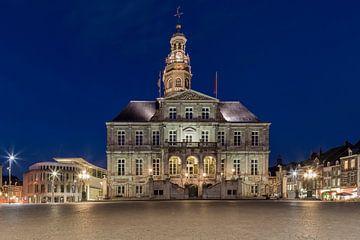 Der Marktplatz in Maastricht von Miranda van Hulst