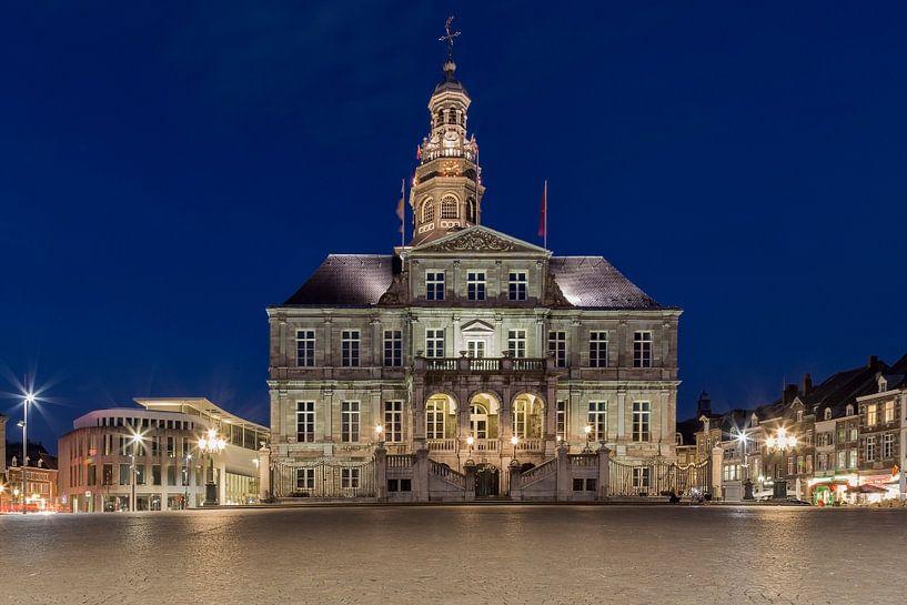De Markt in Maastricht van Miranda van Hulst