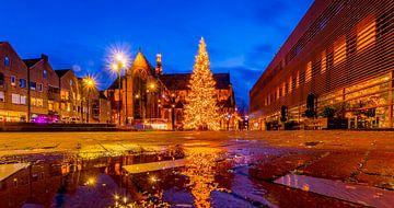 Kerstsfeer op Canadaplein van peterheinspictures
