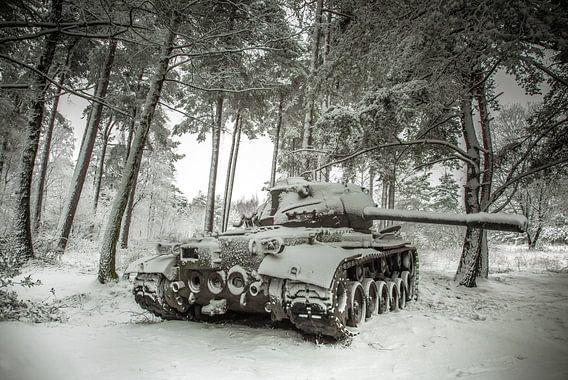 Tank in de sneeuw #4