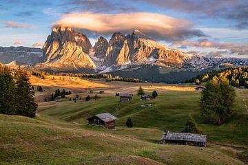 Seiser Alm Tyrol du Sud sur Achim Thomae