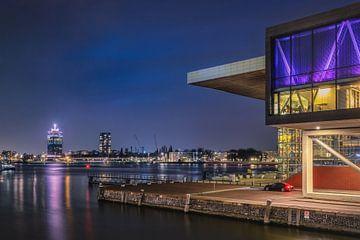 Muziekgebouw en A'DAM toren