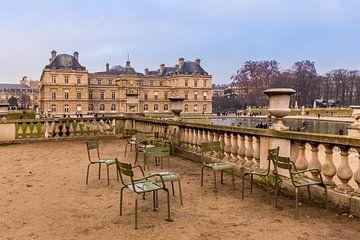 Terrasse mit Blick auf das Palais du Luxembourg von Koen Henderickx