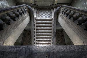 Canon ball staircase