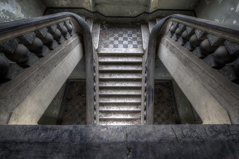 Canon ball staircase von Steve Mestdagh