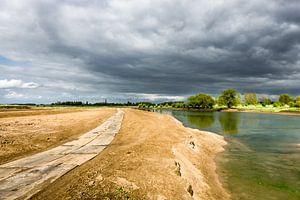 Ooijpolder aan de Waal bij Nijmegen