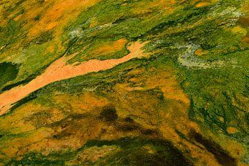Geothermisch abstract van Renzo de Jonge