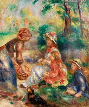 Renoir, Der Apfelverkäufer (1890)