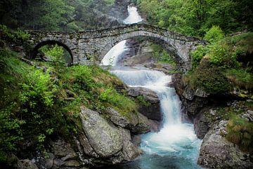 Pont à Fondo (Italie) sur Jacqueline Lodder
