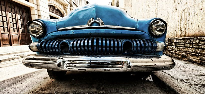 fifties auto in Cuba van Paul Piebinga