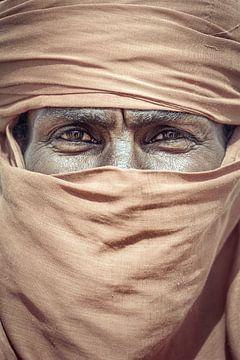 Portrait d'un Touareg dans le Sahara | Libye