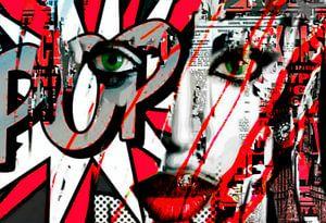 Naomi Campbell Collage Pop Art