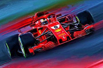Magic Vettel von Jean-Louis Glineur alias DeVerviers