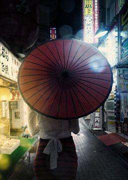 Tokyo la nuit sur Alexander Tropmann