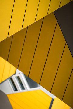 Abstract detail van de Kubuswoningen, Rotterdam sur Martijn Smeets