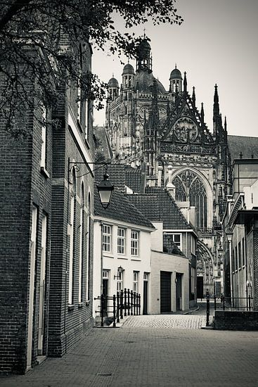 Het pittoreske straatje In den Boerenmouw van Den Bosch
