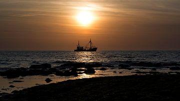 Zonsondergang Ter Heide von MarDie van der Helm