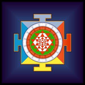 Sri Yantra. Symbol der Energie