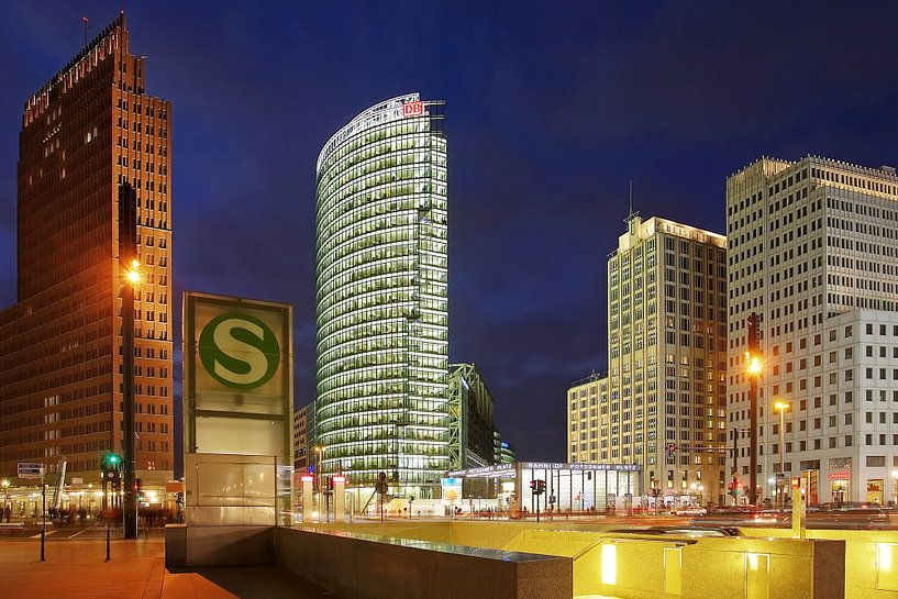 Place Potsdamer Berlin sur Frank Herrmann