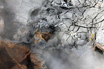 Krater in Rincón de la Vieja van Berg Photostore