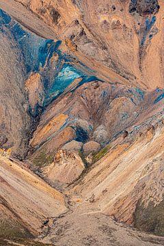 kleurrijke bergen van Thomas Heitz
