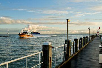 Loodsboot in Vlissingen van Sabina Meerman