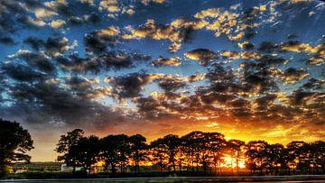 zonsondergang van melike oguz