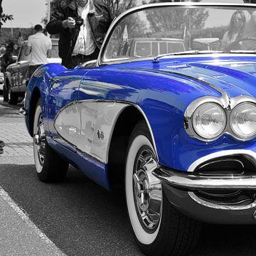 Corvette C1 Blue van Titus Dingjan