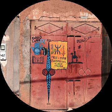 Deur in Zuid Marokko. van Jan Katuin