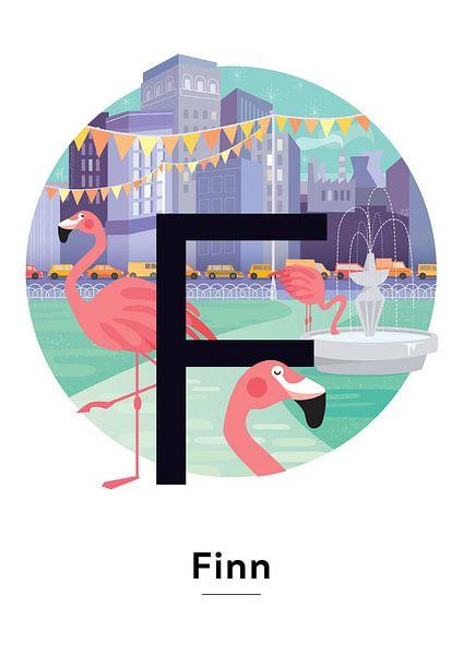Poster mit Namen Finn von Hannahland .