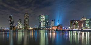 Rotterdam Skyline Lights - Part two