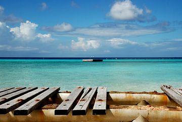 Port Marie Beach Curacao von Carolina Vergoossen