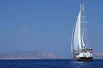 Zeilen bij de Griekse eilanden von Edwin Pijpe