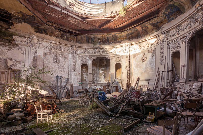 Théâtre abandonné sur dafne Op 't Eijnde