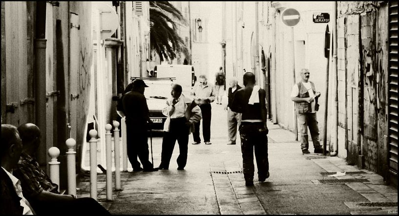 Streets of Toulon. van Esh Photography