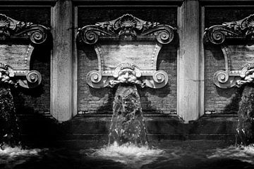 Wasserspeier, Italien (Schwarz-Weiß) von Rob Blok
