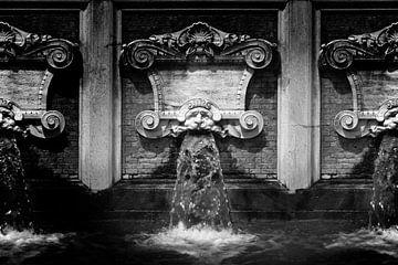 Gargouille, Italie (noir et blanc) sur Rob Blok