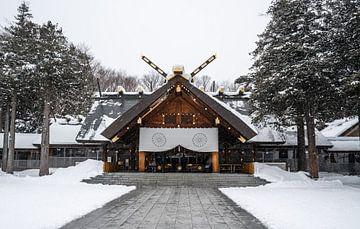 Hokkaido Shrine in Sapporo van Mickéle Godderis