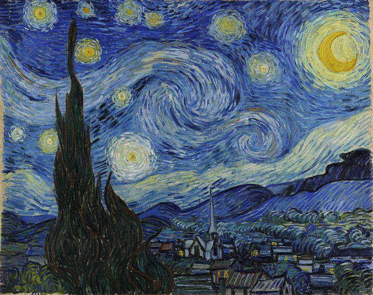 De sterrennacht van Vincent van Gogh van Rebel Ontwerp