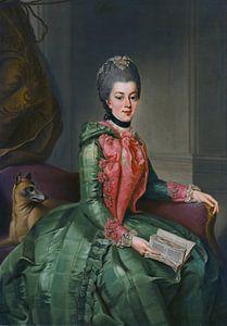 Frederika Sophia Wilhelmina koningin der Nederlanden van Diverse Meesters