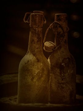 Oude Flessen van Arnold de Gans