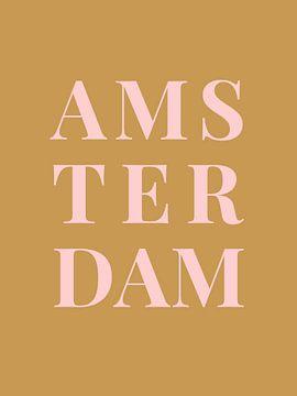 Amsterdam (in goud/roze)