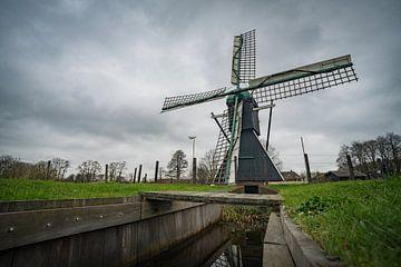 Keppelsche Wassermühle in Laag-Keppel von Arnold van Rooij